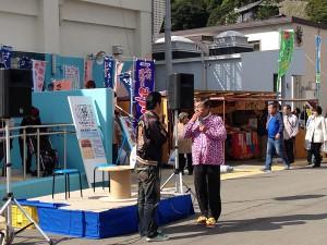 和歌浦漁港 第17回朝市『しらすまつり』
