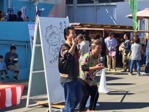和歌浦漁港 第19回朝市『しらすまつり』