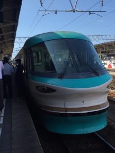 特急くろしお「オーシャンアロー車両」20周年記念 新宮駅出発式