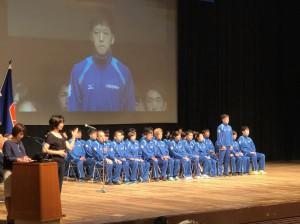 福井しあわせ元気国体和歌山県選手団結団壮行式